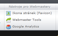 Nástroje pro Webmastery