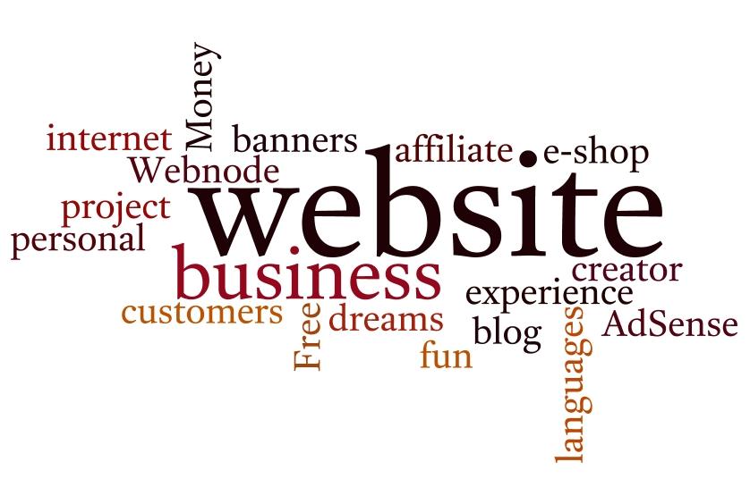 štítky na webových stránkách