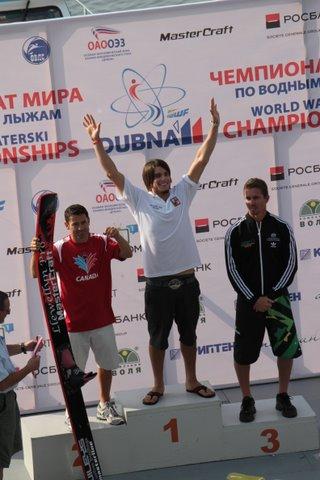 Adam Sedlmajer vyhrává na mistrovství světa