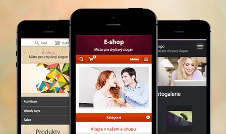 Nové mobilní šablony pro vaše e-shopy