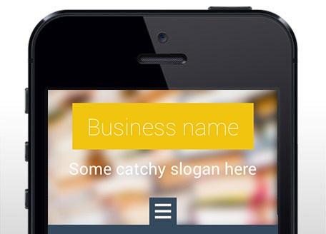 Webnode mobilní šablony webových stránek