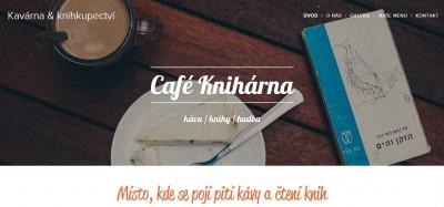 uživatelský web kavárna