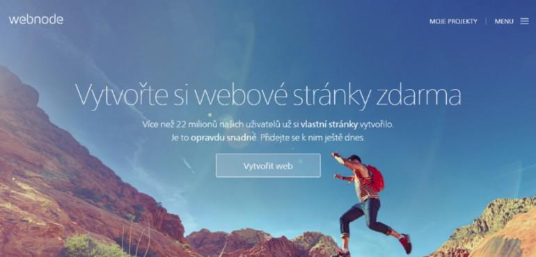 Vytvořte si webové stránky zdarma
